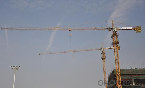 Tower Crane of TC5015 with Max Load 6 Ton and Span of  50M