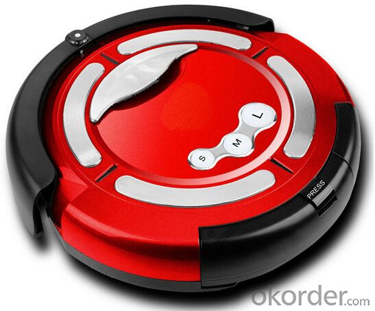 Robot Vacuum Cleaner with Remote Control Cyclone Cyclonic Wet and Dry Robot Vacuum Cleaner