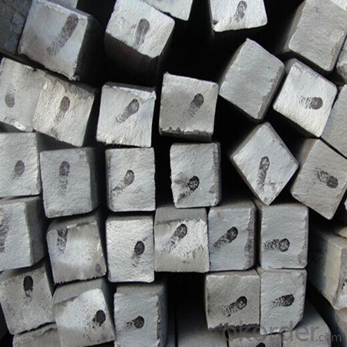 Mild Steel Square Billet Bar for Rebar Production