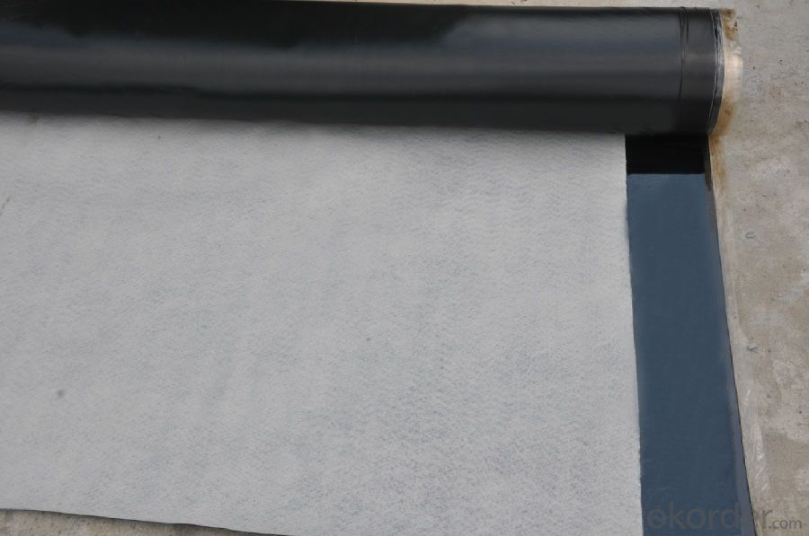 EPDM  Rubber Waterproofing Membrane Leakage Protection