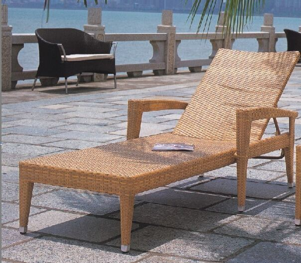sun lounger chaise lounge rattan lounge wicker lounger outdoor furniture