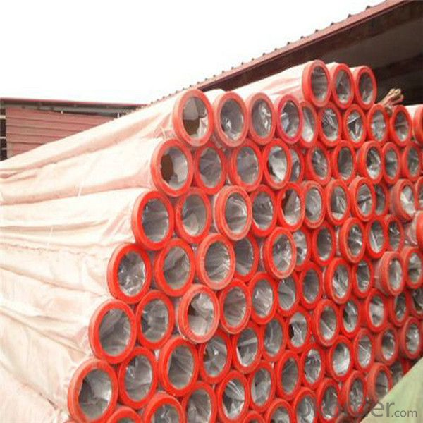 Concrete Pump Hardened Pipe DN125 High Endurable