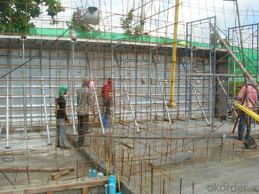 ALUMINUM FORMWORK SYSTEMs for BUILDING CONSTRUCTION
