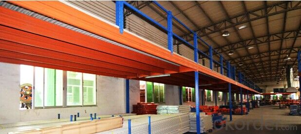 Mezzanine Type Racking System for Storage