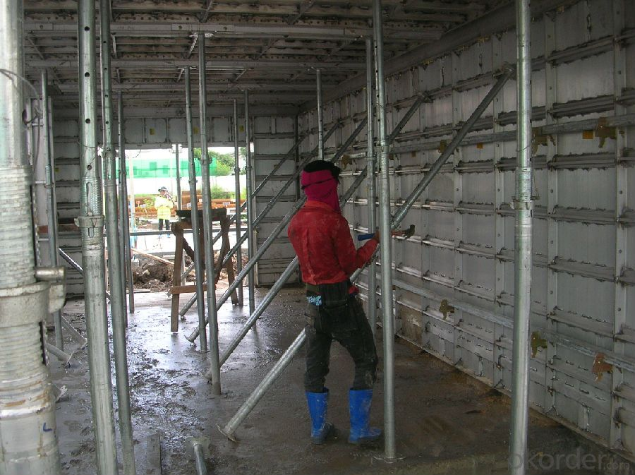 WHOLE ALUMINUM FORMWORK SYSTEMS for BEAM CONSTRUCTION