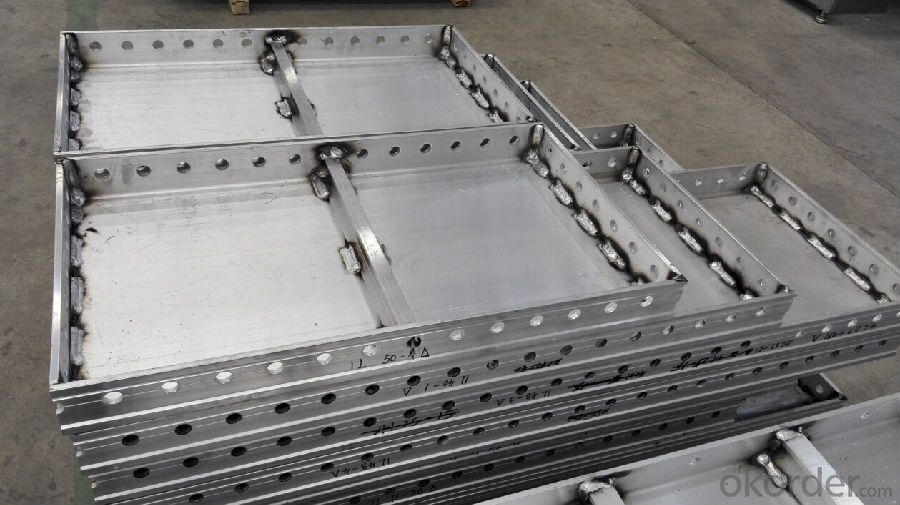 ALUMINUM FORMWORK SYSTEM and Scaffoldings for BUILDING CONSTRUCTION