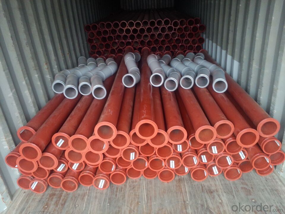 PM Z Type Concrete Delivery Pipe DN125X2X45DGR