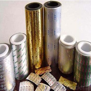 Pharmecutical Foil Pill Caps PP Caps Aluminum Foil