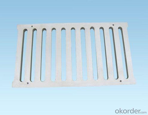 Grating Heavy Duty Ductile Iron D400 EN124 For Sale