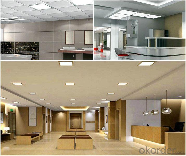 Unique Design--Slim Led Panel Light 18W CRI 80 PF 0.5 Recessed Mount Round Shape
