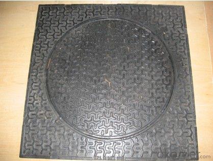 Manhole Cover EN124 GGG40 Ductule Iron D400 Bitumen