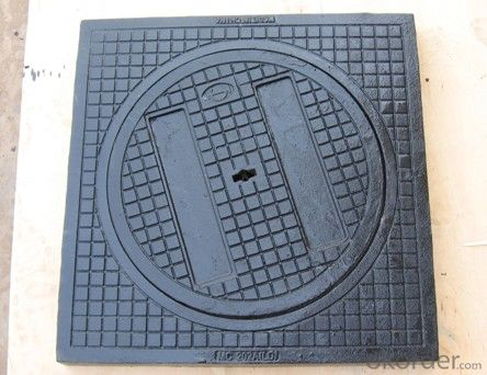Manhole Cover EN124 GGG40 Ductule Iron C250 Bitumen Coating