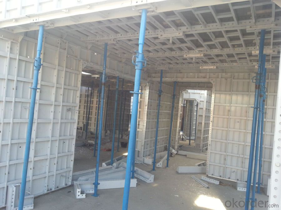 WHOLE ALUMINUM FORMWORK  FOR BUILDING CONSTRUCTIONs