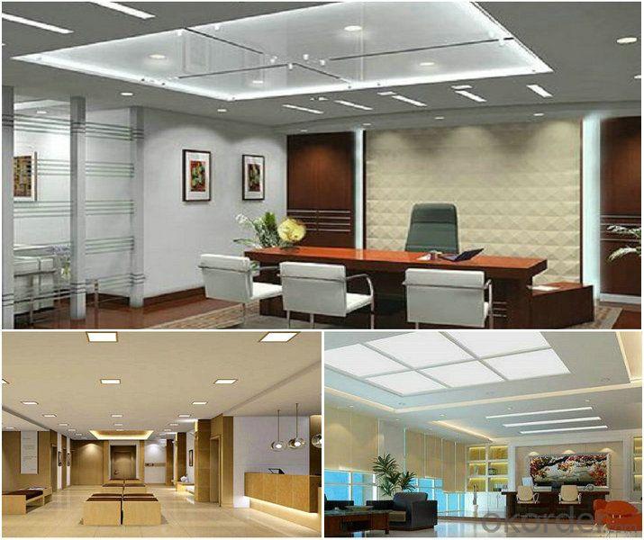Led Panel Light 24W CRI 80 PF 0.5 Surfaced  Mount Square Shape