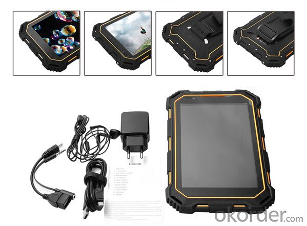 7inch IP68 Rugged Tablet PC Waterproof Shockproof Dustproof Android 3G