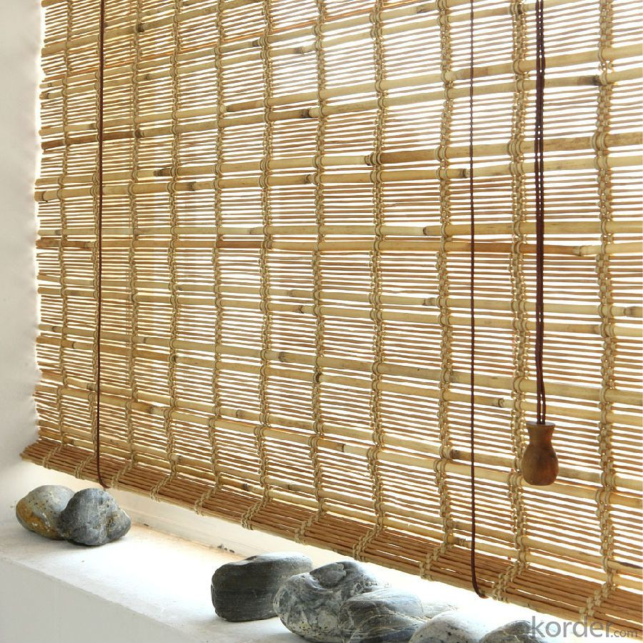 White Natural Bamboo Screening for Decoration