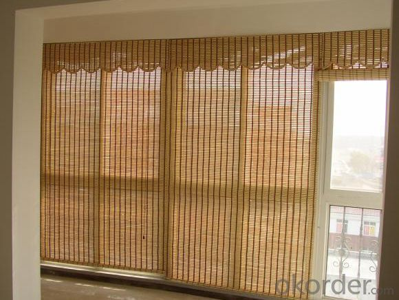 Natural Bamboo Backyard Screening Bamboo Curtain