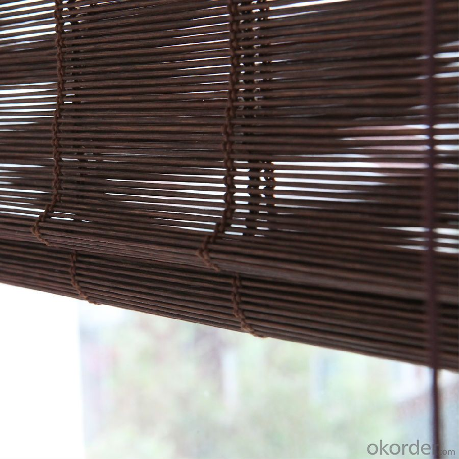 Pull Rope Curtain Bamboo Garden Fence Screen