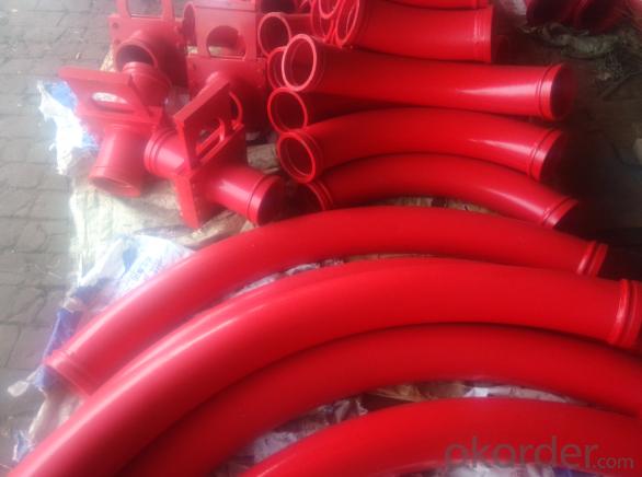 Concrete Pump Truck Parts Bend DN125 R1000 45DRG
