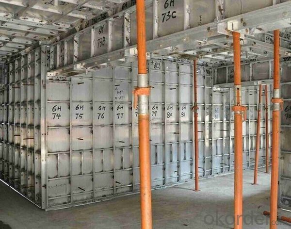 Low Energy Construction  Aluminum Shoring System