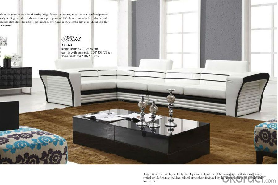 Living Room Sofa Furniture of Luxury Design