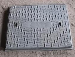 Ductile Iron Manhole Cover EN124 D400 Bitumen Coating