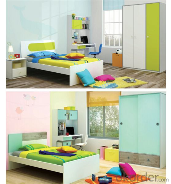 Child Furniture Set with Yellow and White Color