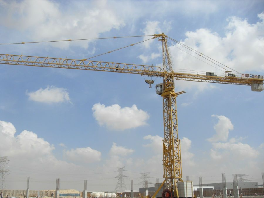 Tower Crane for CNBM  Key Product of CNBM Company