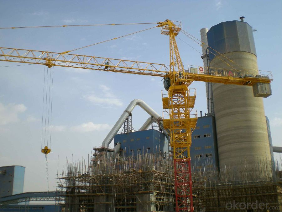 Tower Crane With ISO9001&CE Certifications