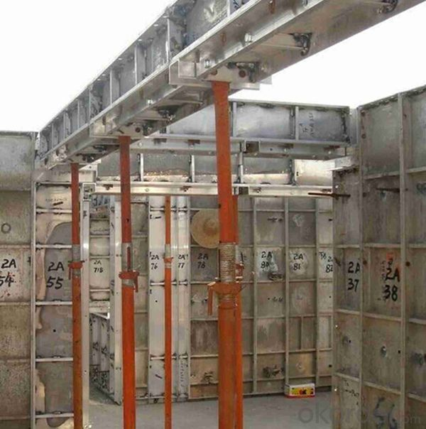 Safety Aluminum Shoring System for High Rise Buildings