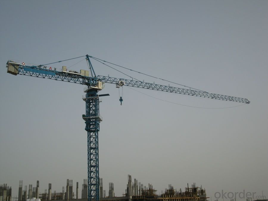 Tower Crane CNBM Flat-Top Competitive Price and Excellent Quality