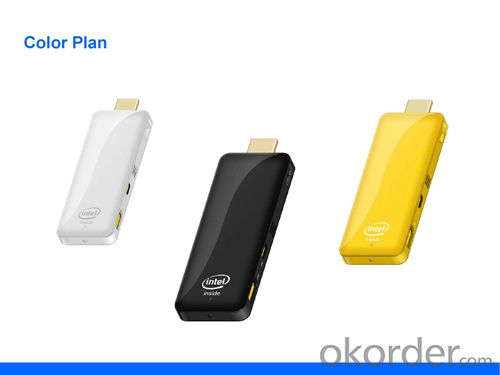 Intel TV Dongle Mini PC Quad Core with 2GB+32GB