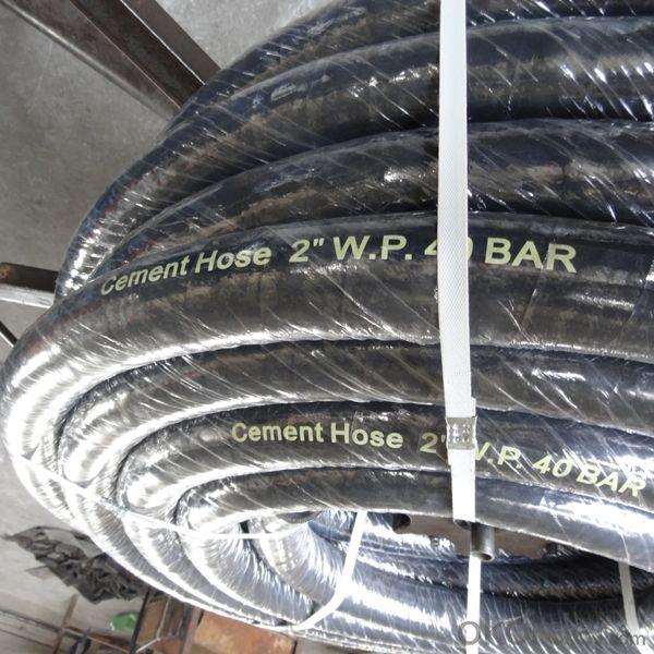 Cement Truck Spare Parts Cement Hose 2'' W.P.40BAR
