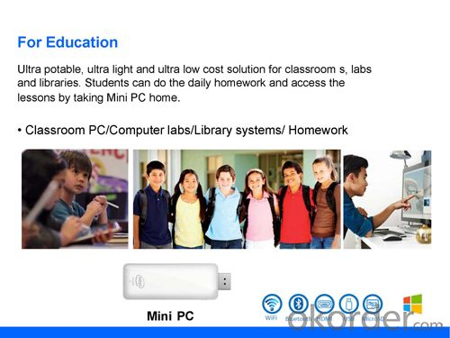 Mini PC Windows 8.1 Quad Core Pocket TV Stick TV Dongle Intel Z3735F