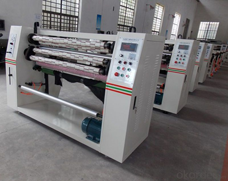Bopp Tape Automatic Labeling Function Slitting Machine