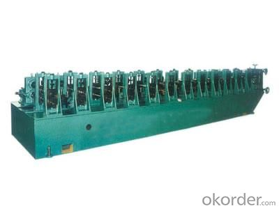 Car Window Slide Rail Roll Forming Machine