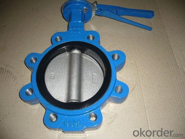 Butterfly Valves DN510 Ductile Iron Wafer Type