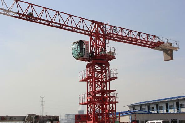 Toples Tower Crane (PT5023/PT5519/PT6016)  With Jib length of  50M 55M 60M