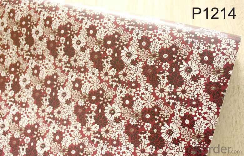Self-adhesive Wallpaper PVC Celling Designs Russia Reusable Wallpaper