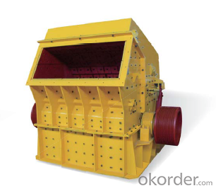 Mobile impact crusher crushing station For Sale