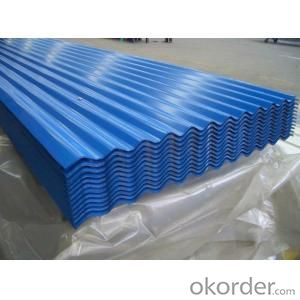 PPGI Roofing Sheet 600mm-1250mm for Construction