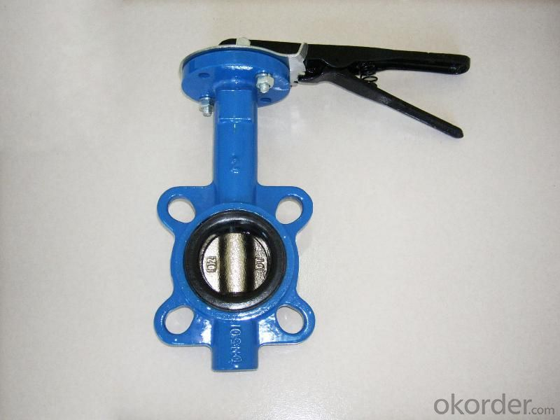 Butterfly Valves Ductile Iron Wafer Type DN680