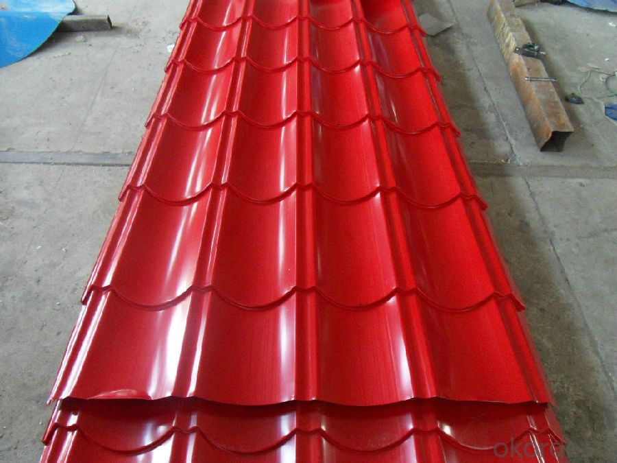 Pre-Painted Galvanized/Aluzinc Steel Roof with Different Color
