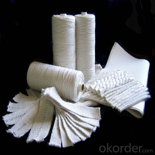 Ceramic Fiber Cloth Fireproof Wrap in Low Thermal Conductivity