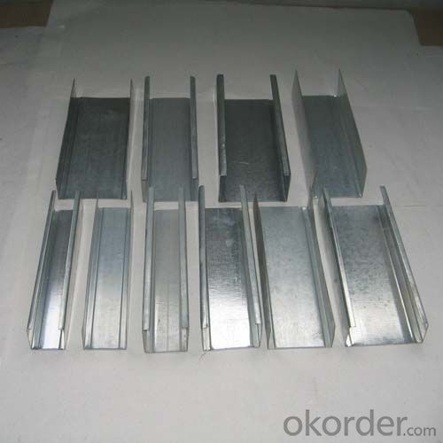 Galvanized Steel Channel For Drywall Profiles