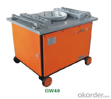 Portable Steel Bar Cutter & Bender GW50