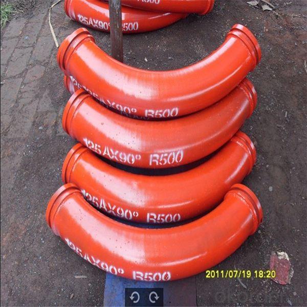 Concrete Pump Spare Parts Delivery Bend 45 Degree