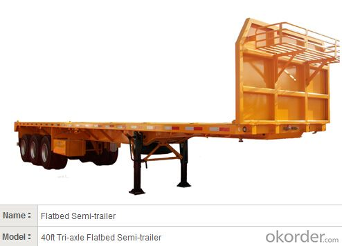 Steel  Semi Trailer with Good Performance