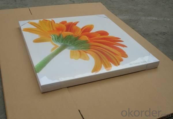 Eco - solvent Semi - glossy Poly and Cotton Canvas Print