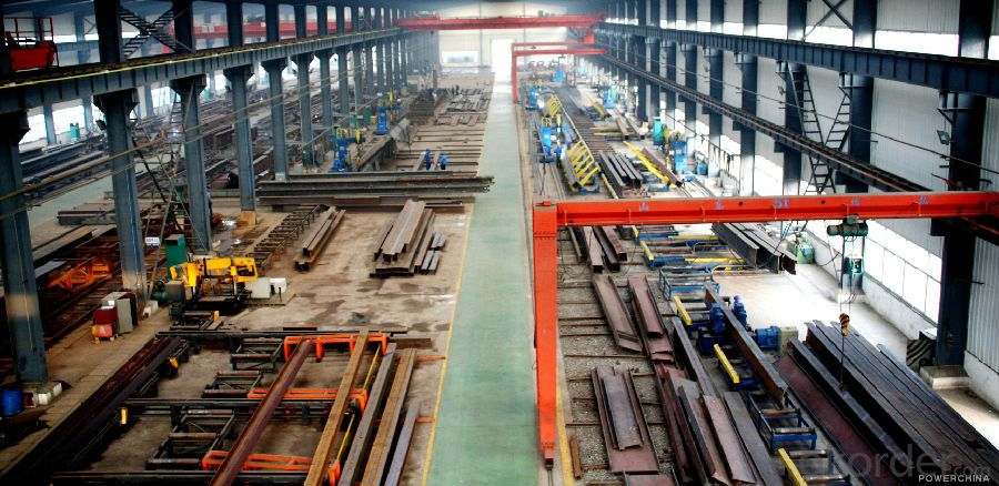 Prefabricated Steel Structure Workshop Projects